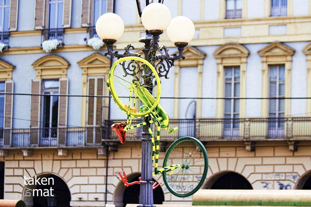 colorato bicicletta